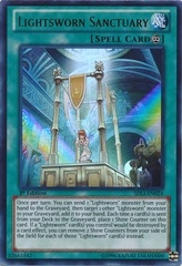 Lightsworn Sanctuary - SDLI-EN024 - Ultra Rare - 1st Edition