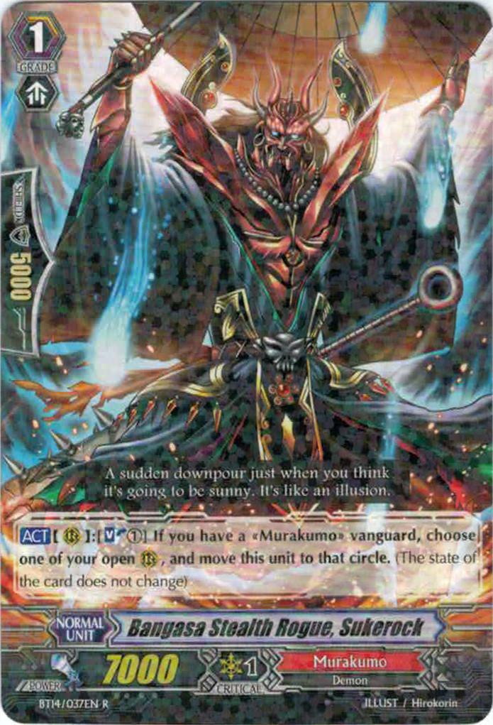 Bangasa Stealth Rogue, Sukerock - BT14/037 - R