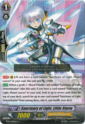 Sanctuary of Light, Little Storm - BT14/046 - C