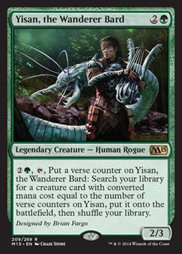 Yisan, the Wanderer Bard - Foil