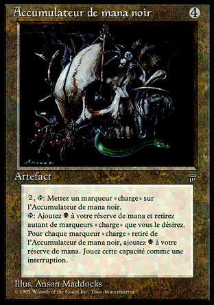 Black Mana Battery (Accumulateur de mana noir)