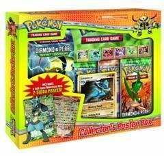 Pokemon Diamond & Pearl Collector's Poster Box