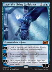 Jace, the Living Guildpact - Foil (M15)