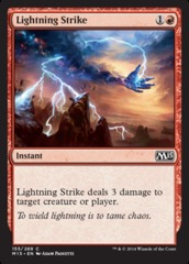 Lightning Strike - Foil on Channel Fireball