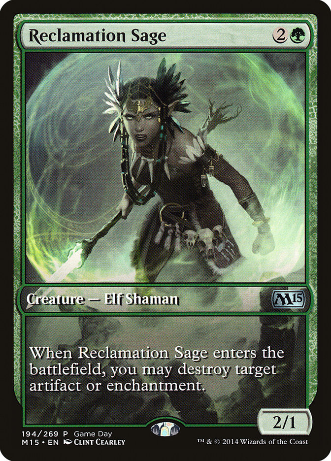Reclamation Sage - Game Day Promo