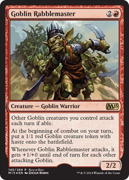 Goblin Rabblemaster - Buy-a-Box Promo