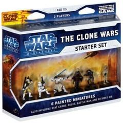 Star Wars Mini Clone Wars Starter Set