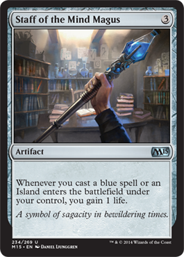 Staff of the Mind Magus - Foil