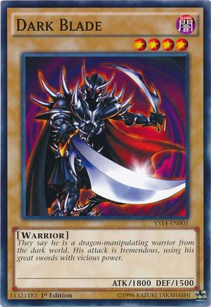 Dark Blade - YS14-EN005 - Common - 1st Edition