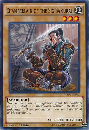 Chamberlain of the Six Samurai - YS14-EN007 - Common - 1st Edition