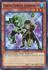 Green Turtle Summoner - YS14-EN020 - Common - 1st Edition