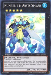 Number 73: Abyss Splash - DRLG-EN040 - Super Rare - Unlimited Edition