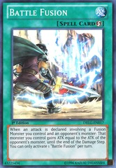 Battle Fusion - DRLG-EN017 - Super Rare - Unlimited Edition on Channel Fireball