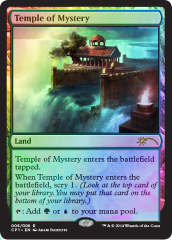 Temple of Mystery (Magic 2015 Clash Pack Promo)