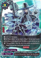 Witch of Destruction, Hearty the Devastator - BT02/0011 - RR