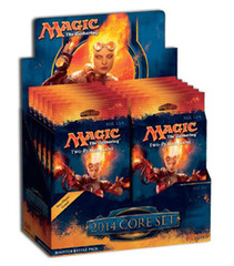 Magic 2014 Booster Battle-Pack Display