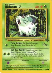 Nidoran♀ - 57/64 - Common - 1999-2000 Wizards Base Set Copyright Edition