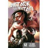Attack on Titan 12 by Hajime Isayama