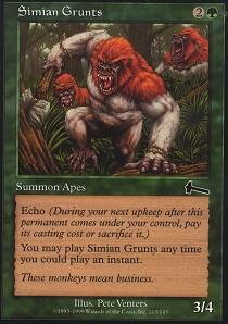 Simian Grunts