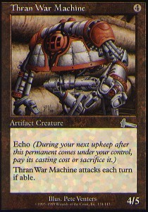 Thran War Machine