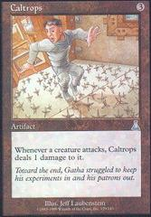Caltrops on Channel Fireball