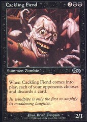 Cackling Fiend on Channel Fireball