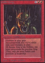Goblin King on Channel Fireball