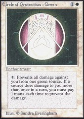 Circle of Protection Green