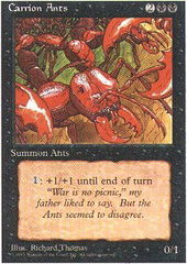 Carrion Ants on Channel Fireball