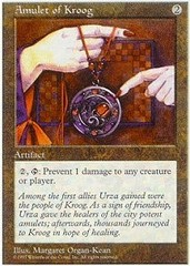 Amulet of Kroog on Channel Fireball