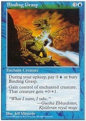 Binding Grasp on Channel Fireball