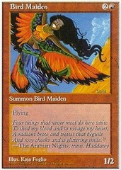 Bird Maiden on Channel Fireball