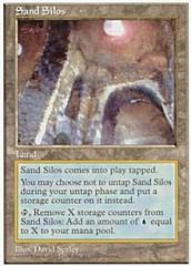 Sand Silos