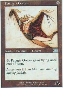 Patagia Golem