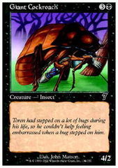 Giant Cockroach on Channel Fireball