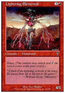 Lightning Elemental