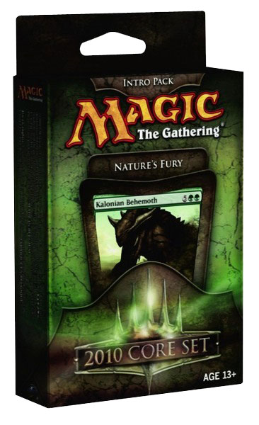 Magic 2010 (M10) Green Intro Pack: Natures Fury