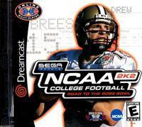 NCAA College Football 2K2: Road to the Rose Bowl Sega Sports