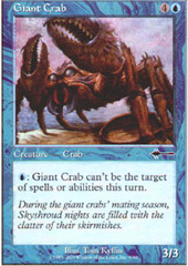 Giant Crab on Channel Fireball