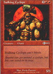 Hulking Cyclops on Channel Fireball