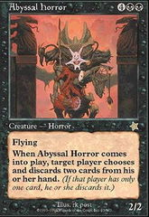 Abyssal Horror on Channel Fireball