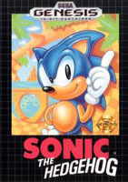 Sonic The Hedgehog  (Sega) - Genesis