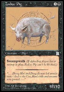 Zodiac Pig