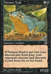 Noxious Toad