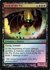 Lord of the Pit - Foil on Channel Fireball