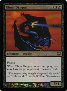 Ebon Dragon - Foil