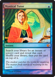 Mystical Tutor - Foil