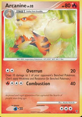 Arcanine - 50/147 - Uncommon on Channel Fireball