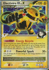 Electivire [FB] LV.X - 144/147 - Rare Holo on Channel Fireball
