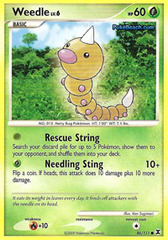 Weedle - 86/111 - Common